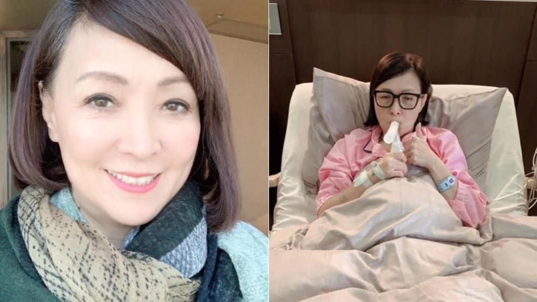 寶媽去年三度確診罹癌。(圖/翻攝自寶媽臉書) 寶媽三度罹癌平安夜住院!「全家人開趴」獨留她面對