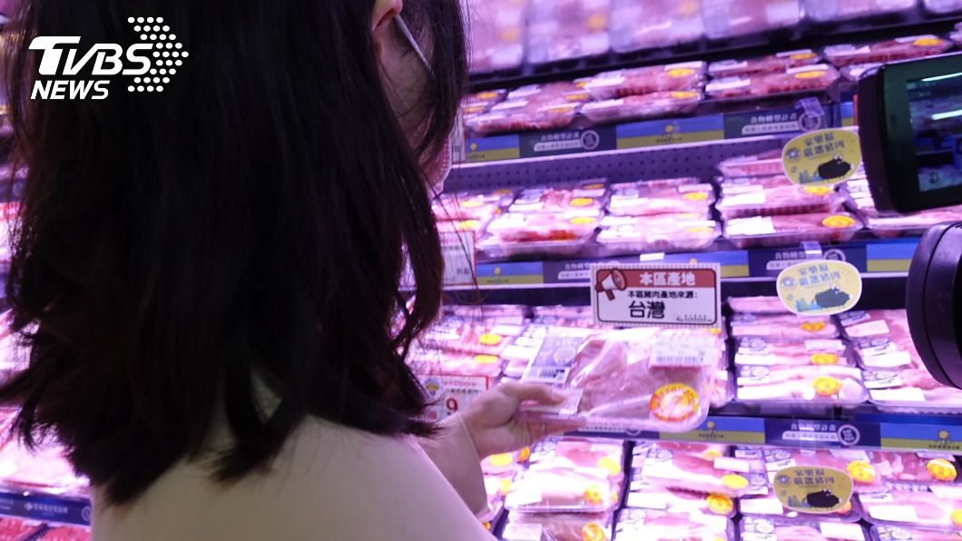 4大賣場重申商品皆以台灣豬為主。(圖/中央社) 萊豬開放進口在即 4大賣場:販售台灣豬為主