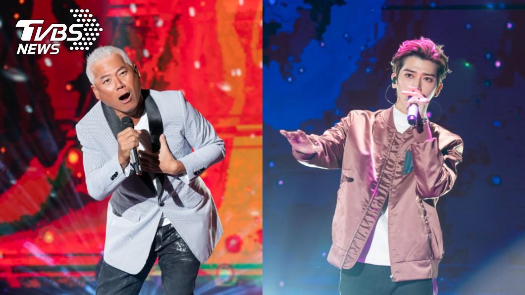 巫啟賢擔任開場表演嘉賓,Bii畢書盡唱新歌籲把握當下。(圖/TVBS) TVBS《聖誕愛無限》音樂慶典 重量級歌手聖誕節溫暖獻唱
