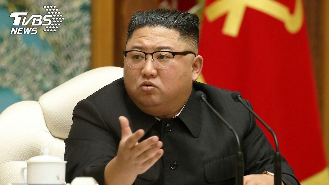 金正恩認了北韓過去5年經濟計劃全面失敗。(圖/達志影像路透社) 金正恩道歉!7千人面前認了北韓「經濟失敗」