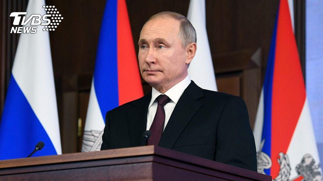 俄國總統普欽。(圖/達志影像美聯社) 力挺國產疫苗 克宮:普欽決定接種俄製「衛星-V」