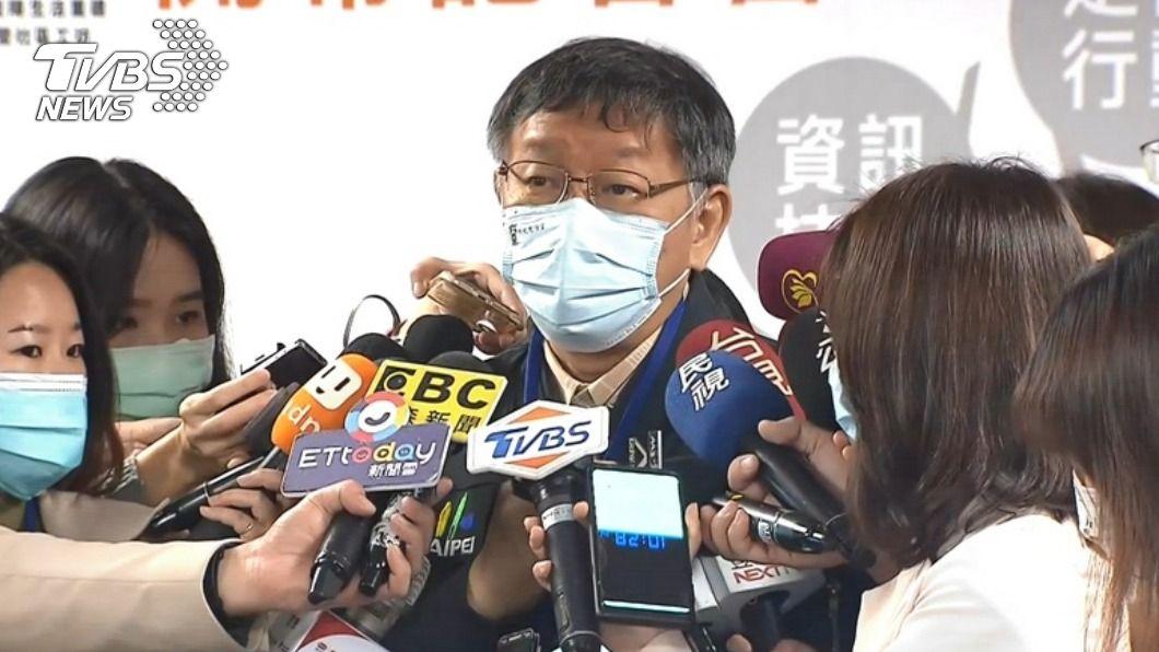 (圖/TVBS) 萊委便當也不吃萊豬? 柯文哲開酸:別人的囝死袂了