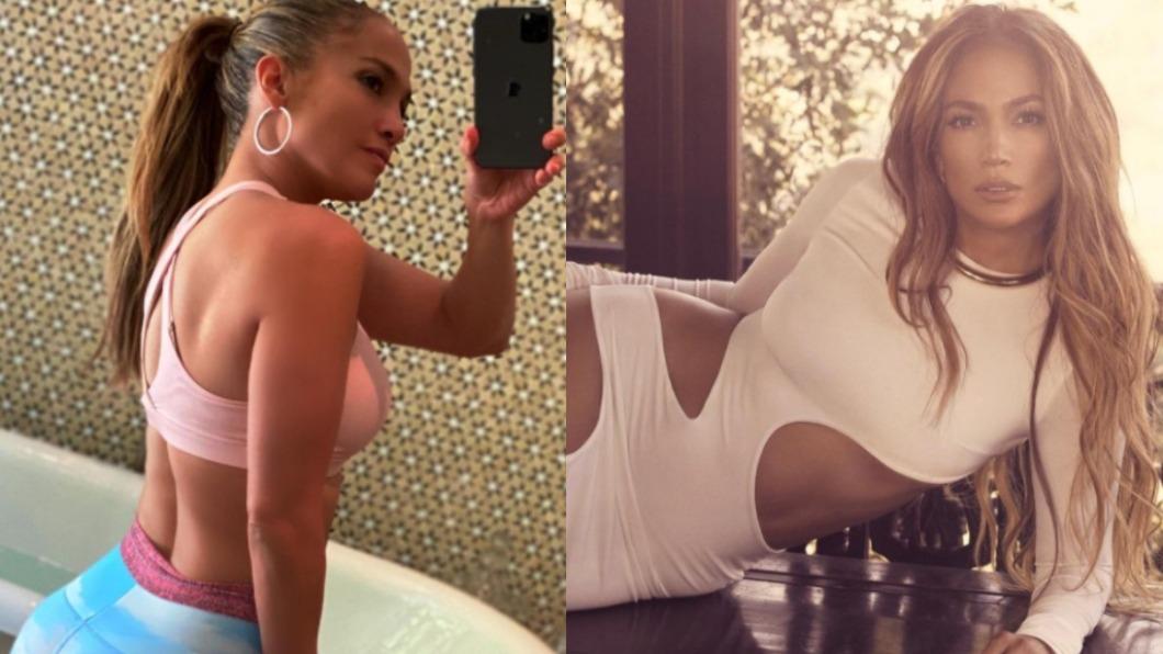 美國流行天后Jennifer Lopez 。(圖/翻攝自jlo IG) 「年過半百」翹臀身材超火辣 天后靠3招維持完美體態