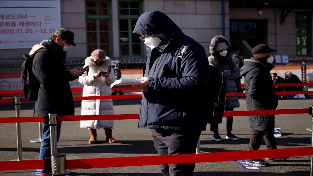 圖/達志影像路透 英變種病毒入韓!南韓不升3級防疫  專家憂