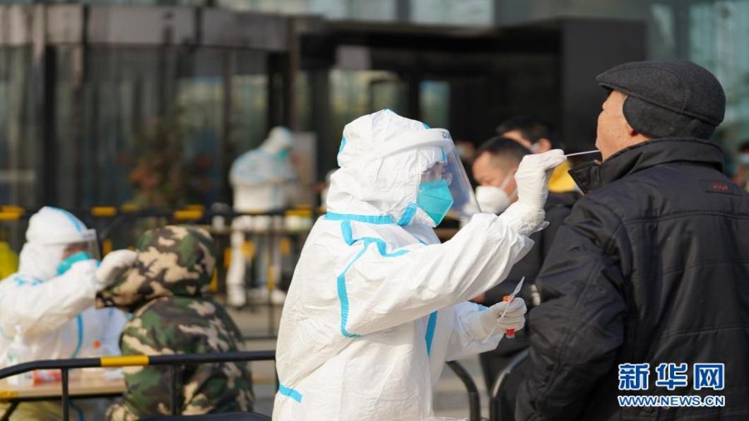 圖/翻攝自 新華網 北京近兩周本土病例達13例 順義區「戰時狀態」