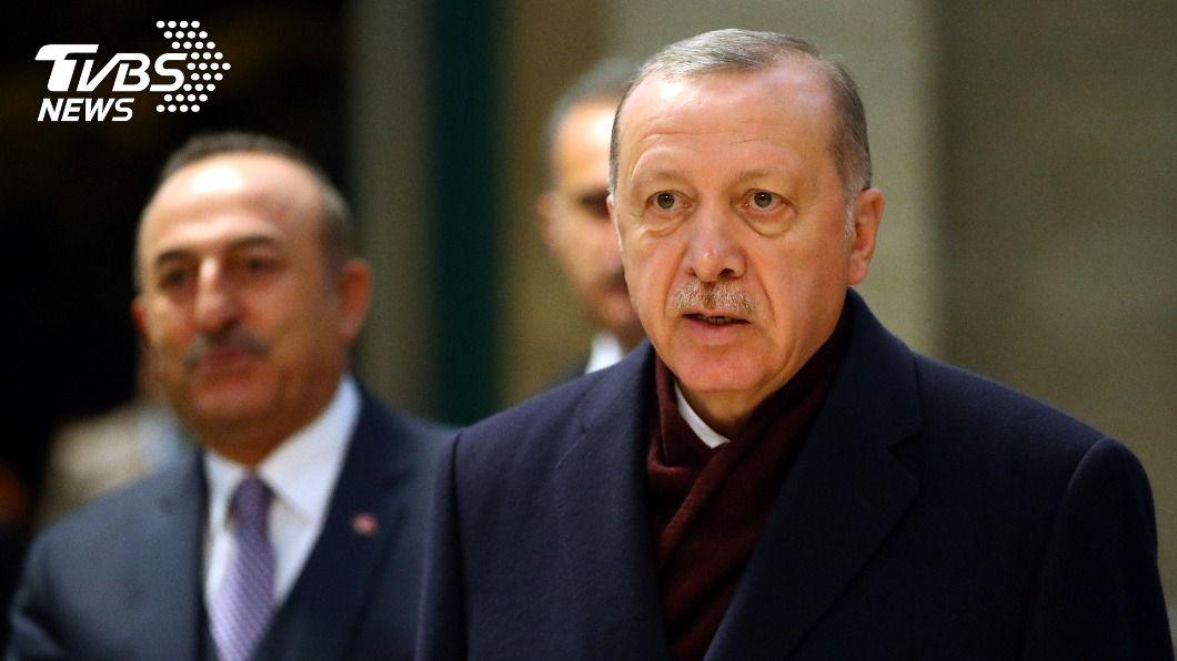 土耳其總統艾爾段宣布將與英國簽署自由貿易協定。(圖/達志影像路透社) 與英國達成雙贏 土耳其29日將簽署自由貿易協定