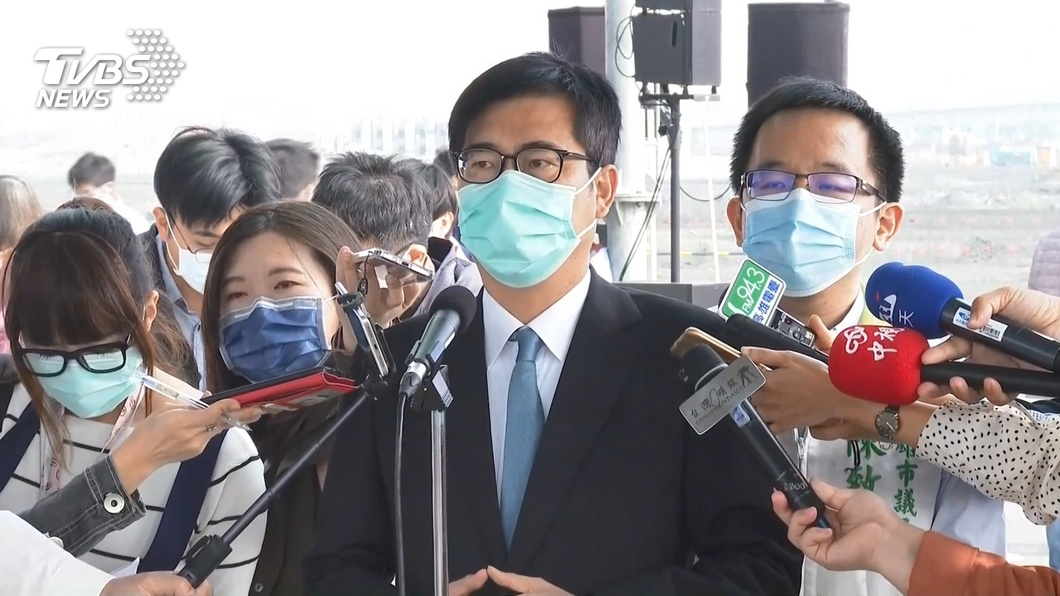 (圖/TVBS) 高雄跨年10小時「決策大轉彎」 陳其邁臉書遭洗版