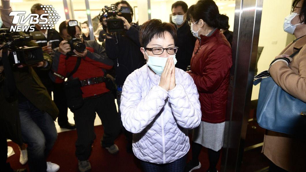 前台北市議員賴素如。(圖/中央社) 涉貪判7年半入監 賴素如喊冤:我是政治下的犧牲品