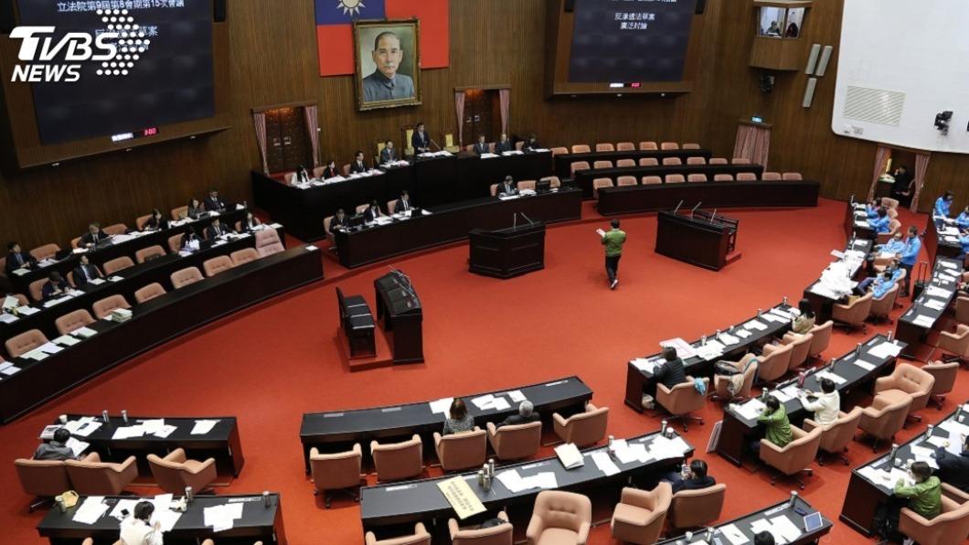 圖/中央社 黨團協商前瞻3期特別預算 立院19日拚三讀