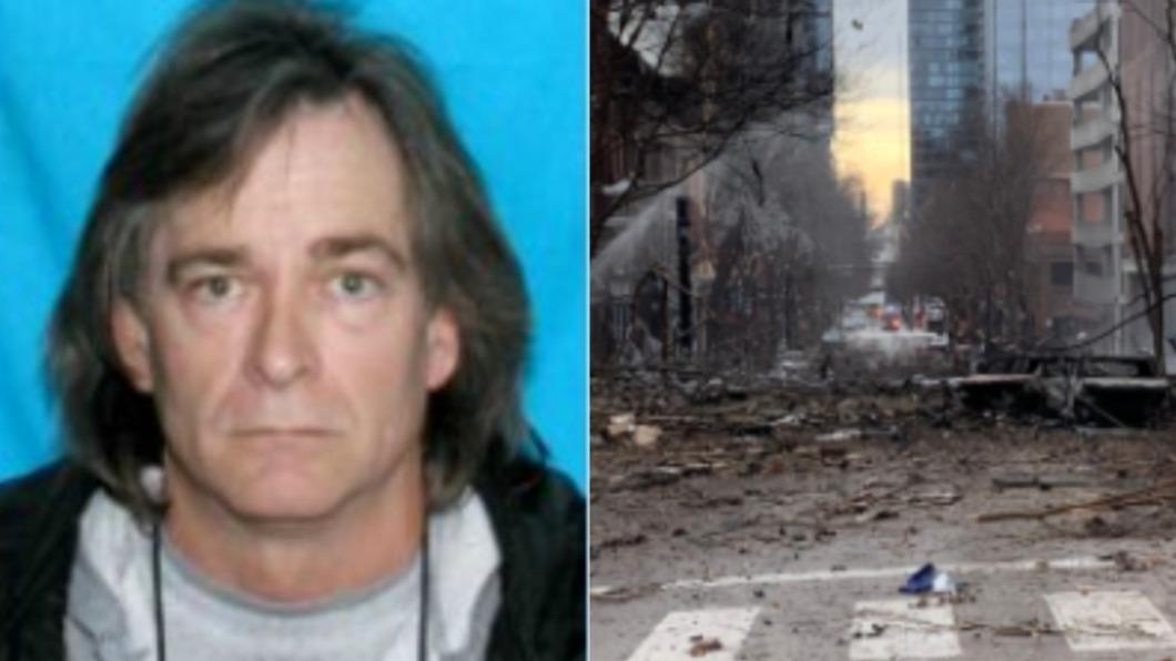 美國田納西州納許維爾日前發生爆炸事件。(圖/翻攝自Tx5推特、Nashville Fire Department臉書) 「耶誕炸彈客」女友去年早報案 警疑失職反嗆:馬後炮