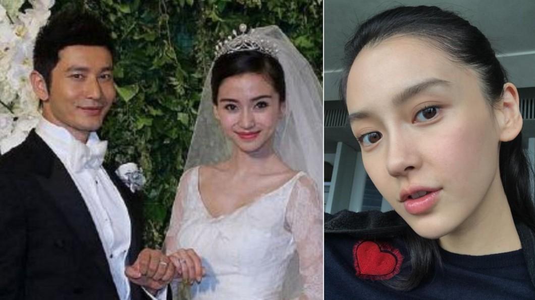 Angelababy和黃曉明結婚5年,離婚傳言甚囂塵上。(合成圖/翻攝自她们叫我钱多多微博、angelababyct IG) 離婚消息瘋傳 Baby感性曝體悟:人生不只有愛情