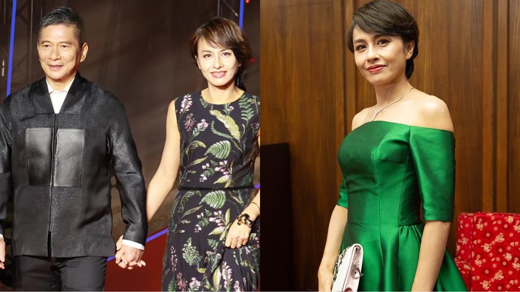 邱議瑩和李永得今年結婚十週年。(圖/翻攝自邱議瑩臉書) 罹癌致終生不孕 邱議瑩「見滿地落髮崩潰」尪不捨