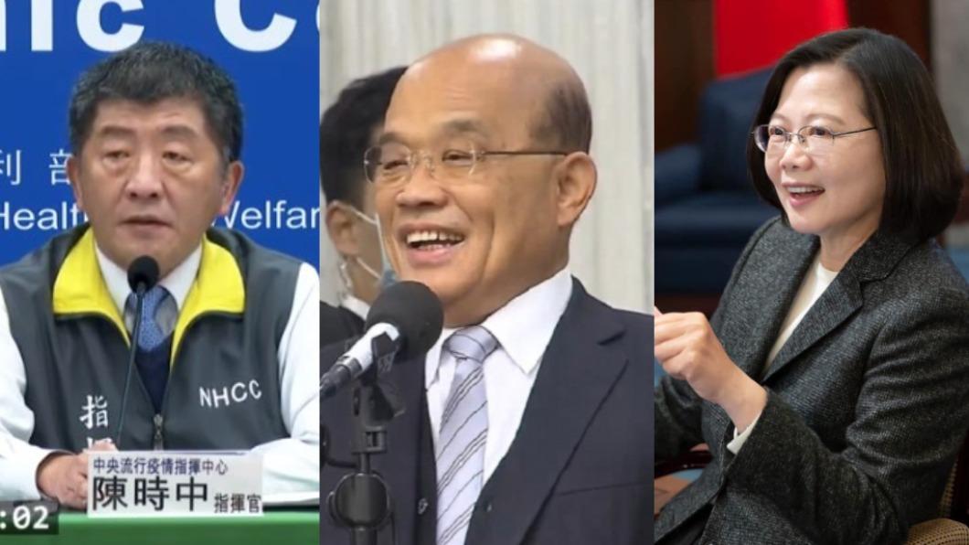 (圖/TVBS資料畫面、翻攝自蔡英文臉書) 3保費齊漲 李彥秀轟民進黨「3寶治國」完全執政不演了