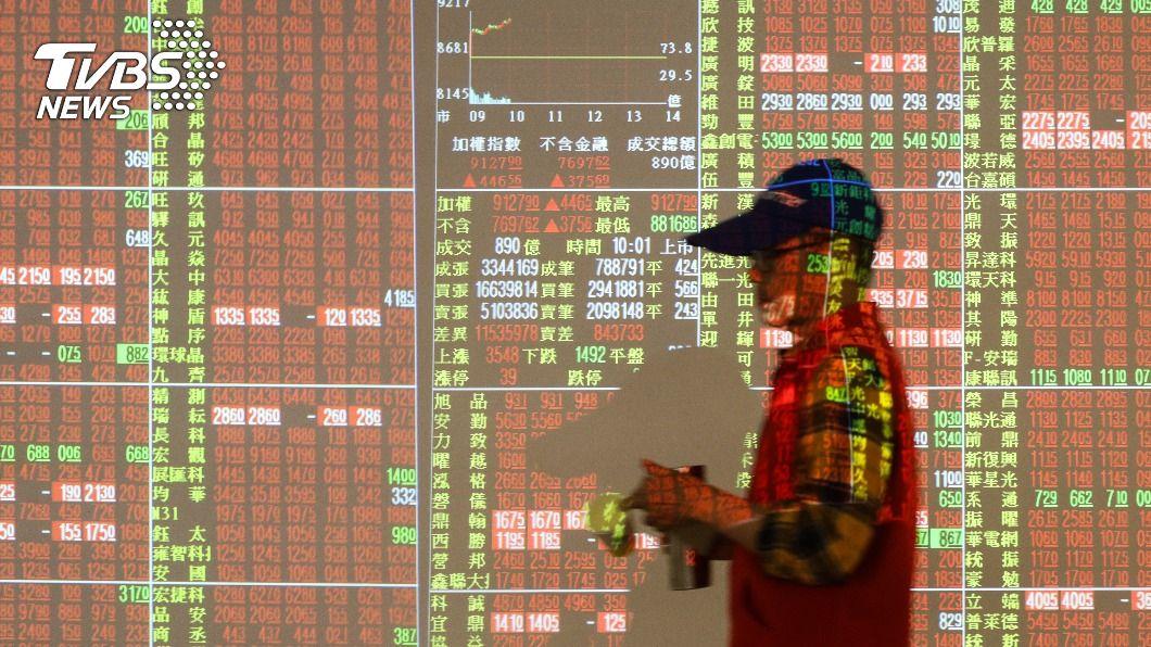 (圖/中央社資料照) 台股開紅盤衝破16300點創新高 台積電上漲近5%
