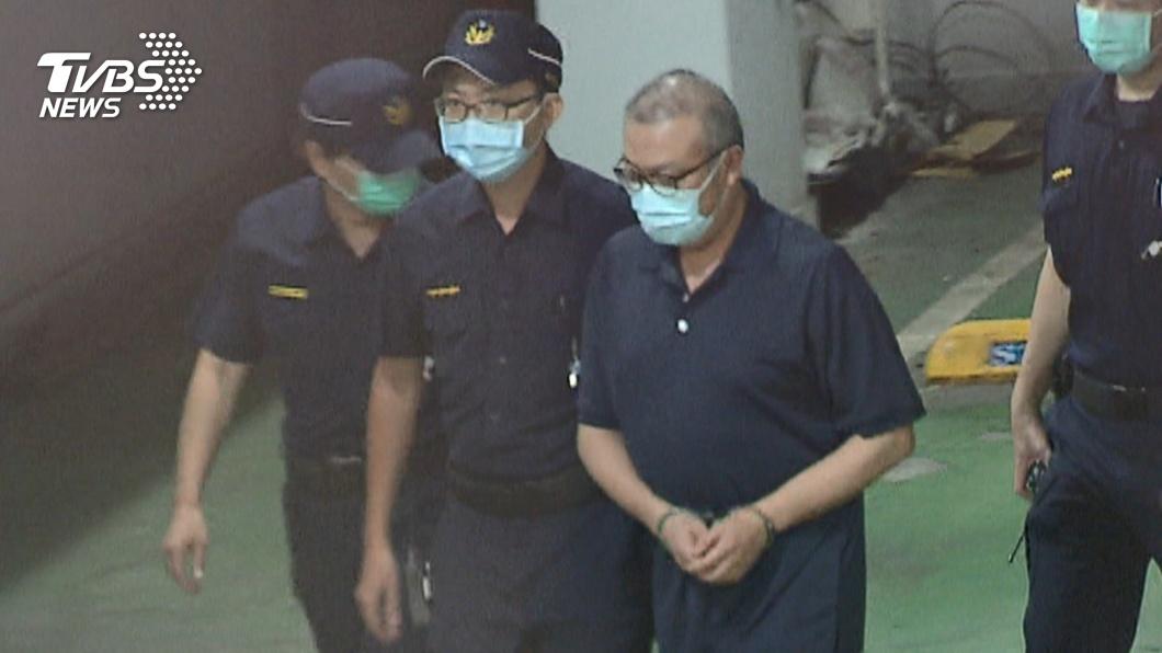立委蘇震清被收押。(圖/TVBS) 可以回家過年了!立委蘇震清涉貪 裁定1千萬元交保