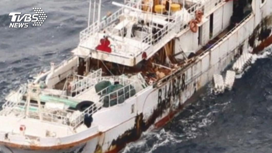 「永裕興18號」船上10人下落不明。(圖/TVBS) 蘇澳漁船永裕興18號失聯 巡護八號啟航救援