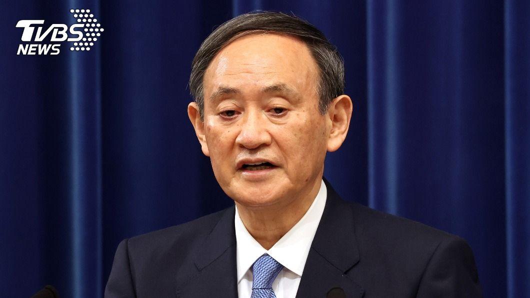 日相菅義偉。(圖/達志影像路透社) 日本新冠疫情蔓延 菅義偉最快7日發布緊急宣言
