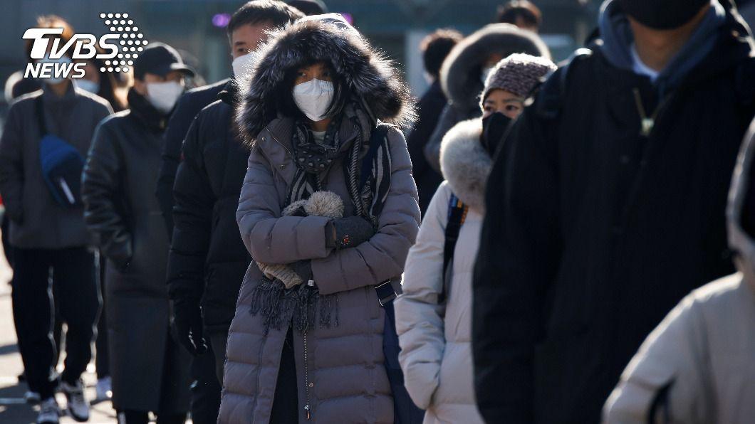 韓國變種病毒增至12例。(圖/達志影像路透社) 韓國疫情初現緩和跡象 感染變種病毒增至12例