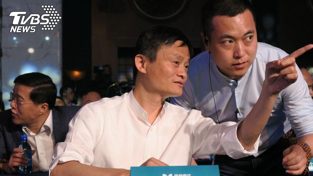 阿里巴巴集團創辦人馬雲。(圖/中央社) 馬雲陷風暴 華爾街日報:北京索求螞蟻信用資料