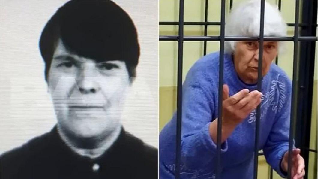 俄羅斯一名81歲老阿嬤涉及多起命案遭羈押,不料去年底因染上新冠肺炎而身亡。(圖/翻攝自YouTube) 拿人肉做成派餵狗 81歲變態嬤染新冠獄中身亡