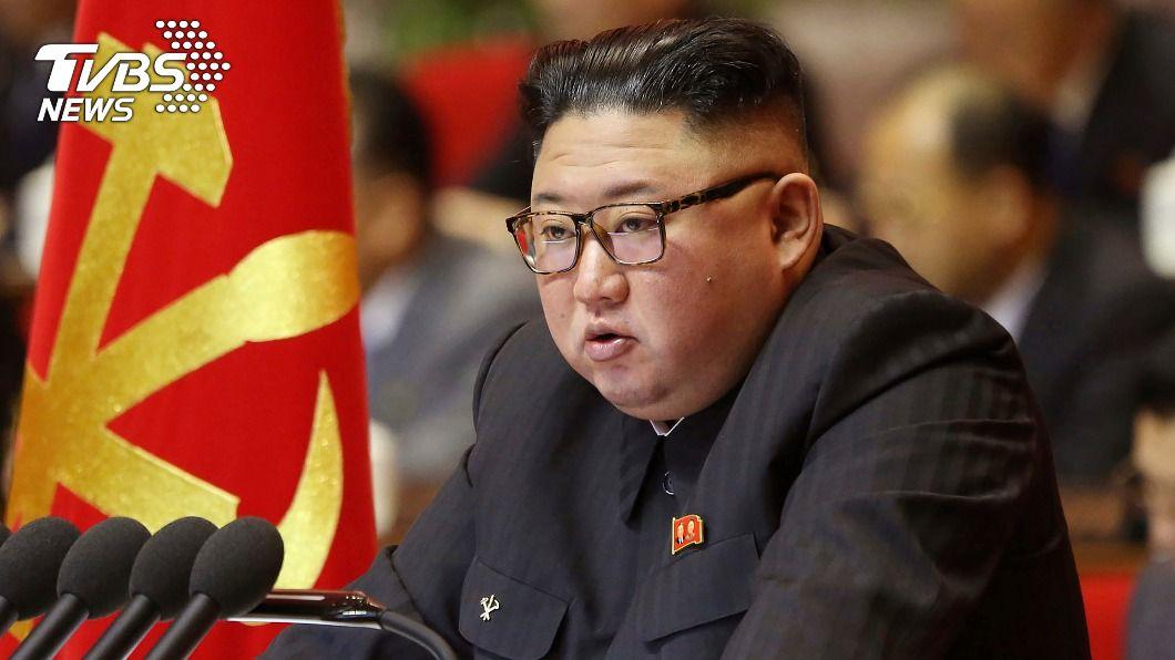 北韓領導人金正恩。(圖/達志影像美聯社) 北韓執政黨第8次全代會 金正恩矢言強化軍事能力