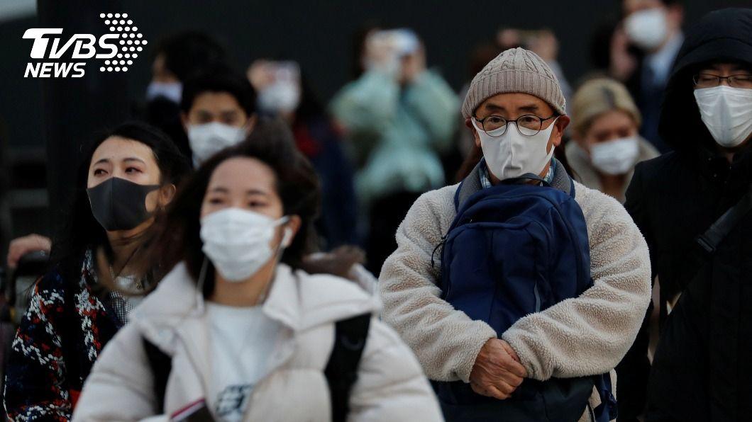 日本單日新增逾7000人確診新冠肺炎。(示意圖/達志影像路透社) 日本單日新增逾7000人染疫 連3天創新高