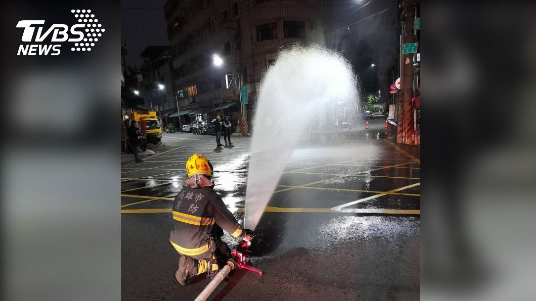 圖/TVBS 快訊/小港疑天然氣外洩 瓦斯數值一度飆高68ppm