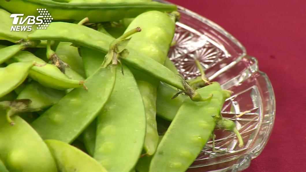 消基會公布農藥殘留最多蔬菜是豌豆莢、甜豆莢。(圖/TVBS資料畫面) 驚!農藥殘留最多竟是「2蔬菜」 專家曝4步驟可減毒