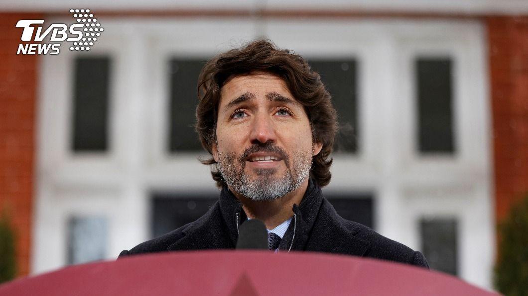 加拿大總理杜魯道痛批川普「煽動」支持者闖國會。(圖/達志影像路透社) 川粉硬闖國會再釀1死 加國總理譴責暴力行為
