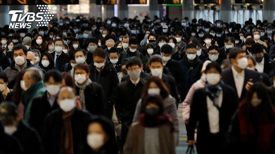 日本首都圈1都3縣已進入緊急事態。(圖/達志影像路透社) 日本首都圈緊急事態 恐擴及京阪神等地