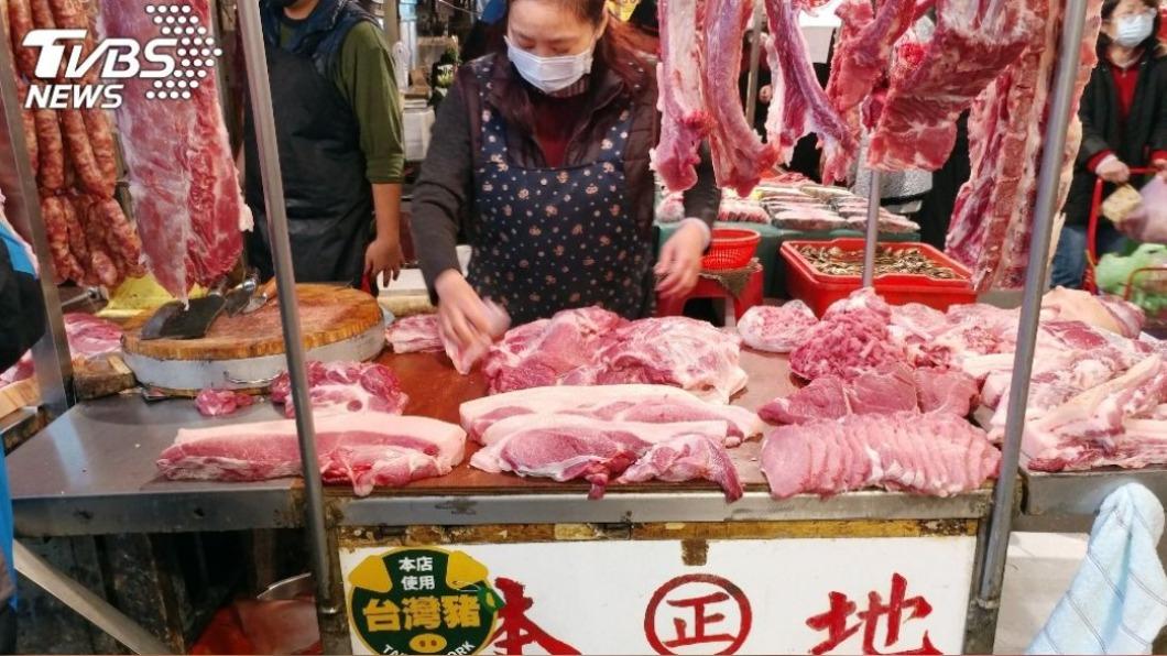 含萊劑美豬開放進口後,消費者關心國內豬肉價格。(示意圖/中央社) 萊豬開放消費者憂價格 農委會:春節維持往年水準