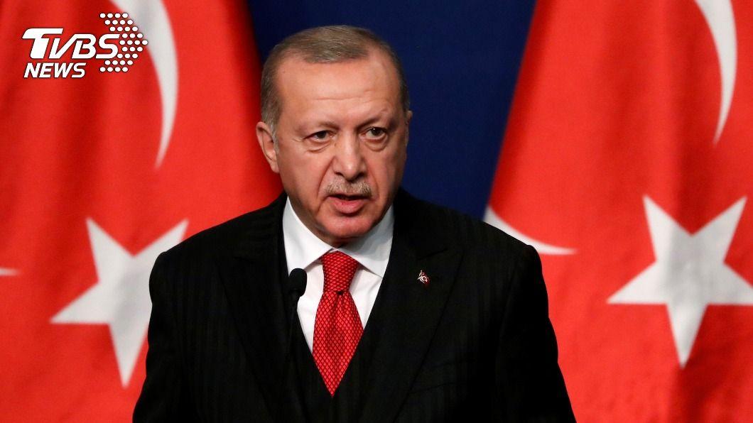 土耳其總統艾爾段。(圖/達志影像路透社) 川粉圍攻國會大廈 土耳其總統轟:民主的恥辱!
