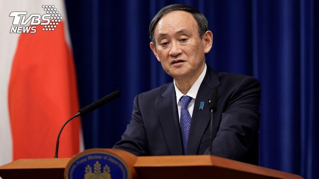 日本首相菅義偉宣布,首都圈8日進入緊急事態。(圖/達志影像路透社) 日本關西恐加入緊急事態 菅義偉鬆口:若有必要