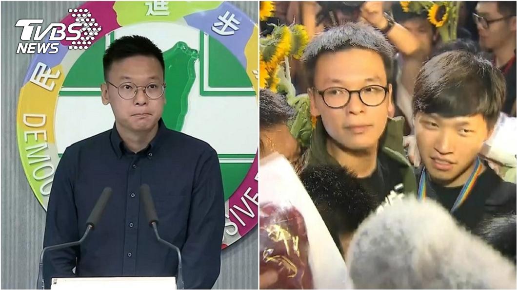 太陽花學運領袖、民進黨副秘書長林飛帆。(圖/TVBS資料畫面) 林飛帆不認美暴動是太陽花翻版 他「超酸翻譯」網笑爆