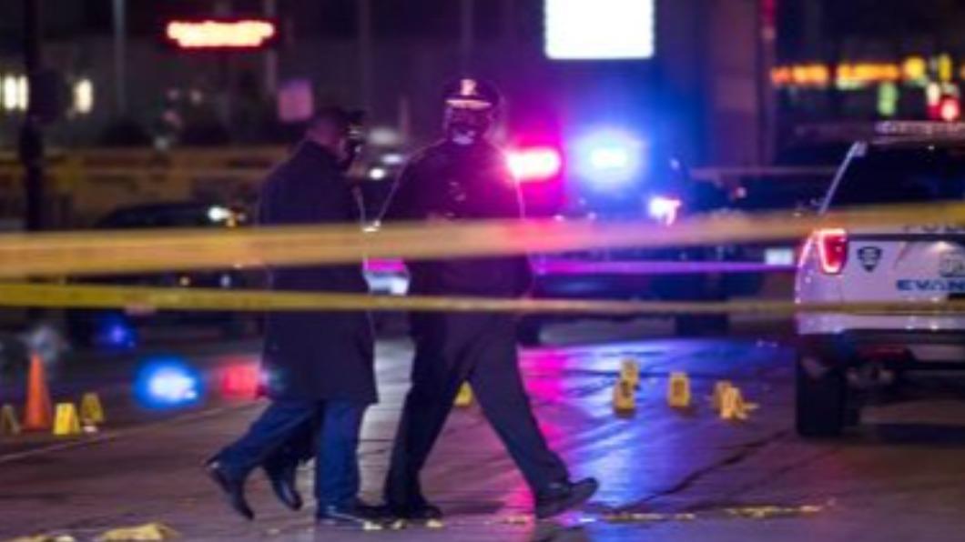 圖/翻攝自Frontline Twitter 芝加哥隨機槍擊 一陸博士生頭部中彈亡
