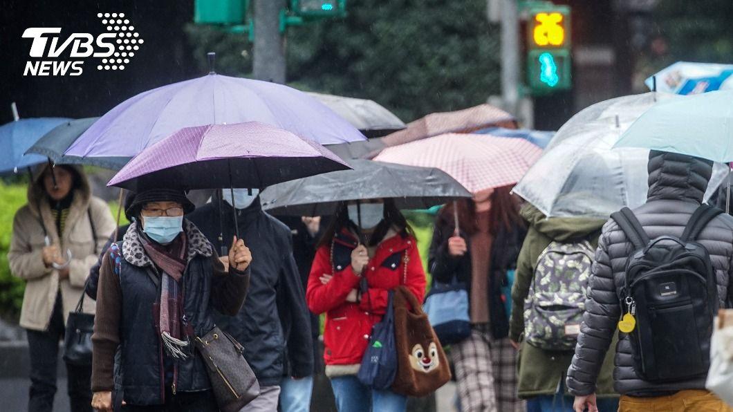 台南與高雄創35年來低溫紀錄。(圖/中央社) 1月很久沒那麼冷! 台南、高雄創35年來低溫紀錄