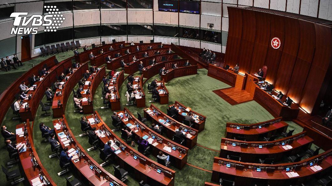 港立法會選舉恐延後。(圖/中央社) 路透:北京擬改革香港政治 立法會選舉恐再延後