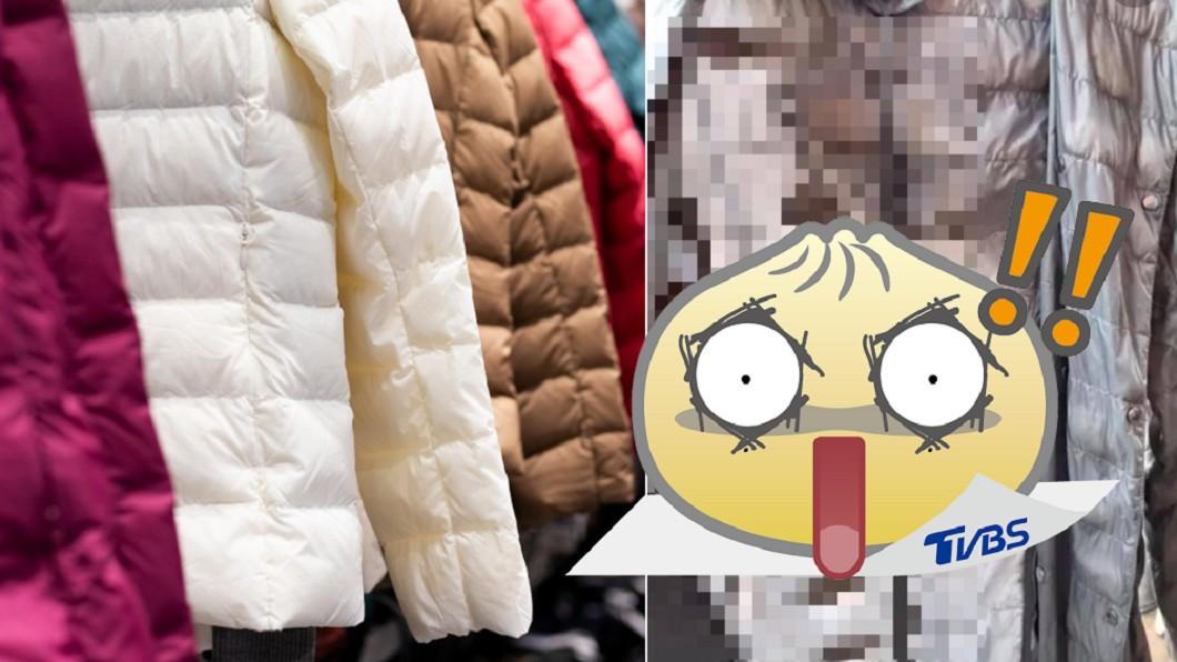 女子洗羽絨外套意外成「蠶寶寶孵化室」。(合成圖/shutterstock達志影像、翻攝自「爆廢公社二館」) 外套驚現「整排蠶繭」 女晾衣看傻:怎麼辦?