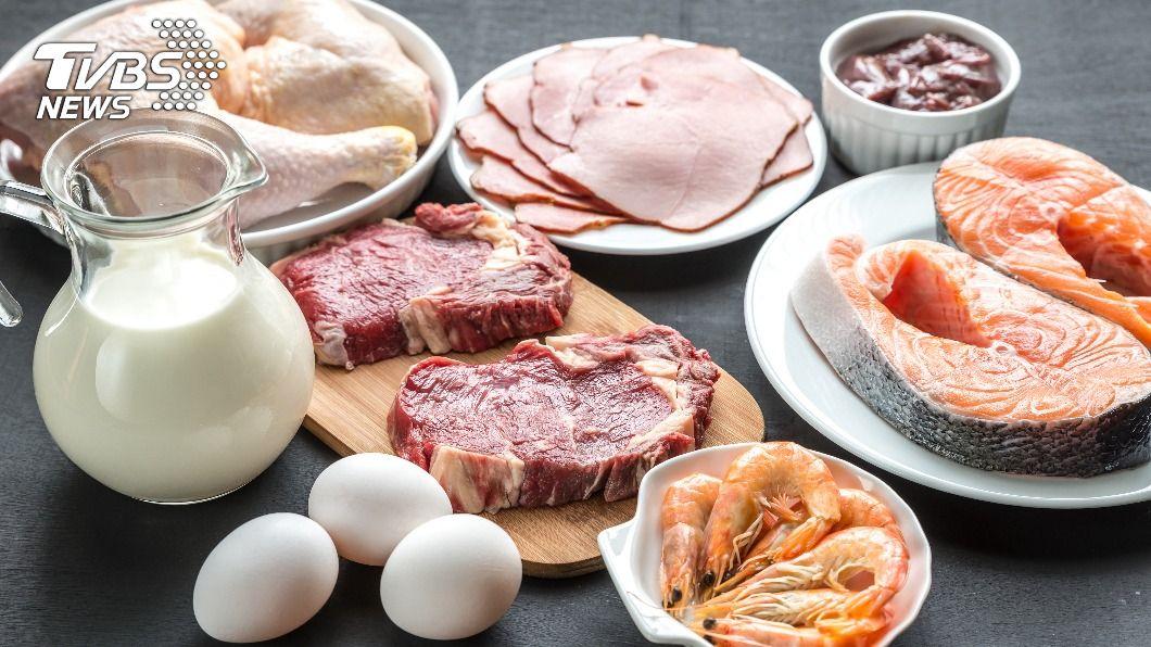 肉類也是動物性蛋白質的重要來源。(示意圖/shutterstock達志影像) 沒吃蛋白質好無力? 「豆魚蛋肉一掌心」就夠了
