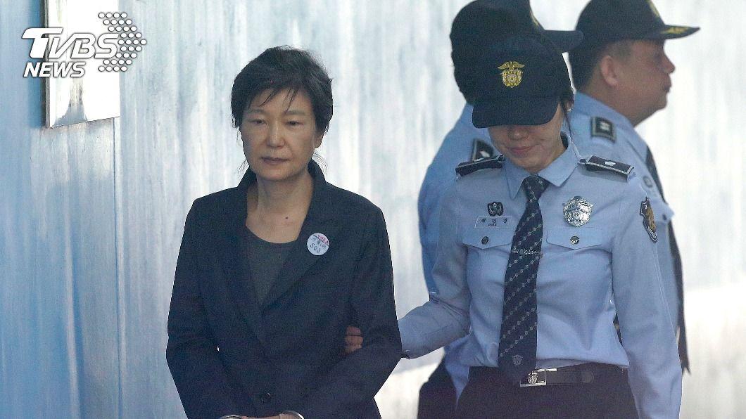 韓國前總統朴槿惠被判處20年徒刑。(圖/達志影像美聯社) 朴槿惠閨密干政案 20年徒刑4.6億罰金定讞