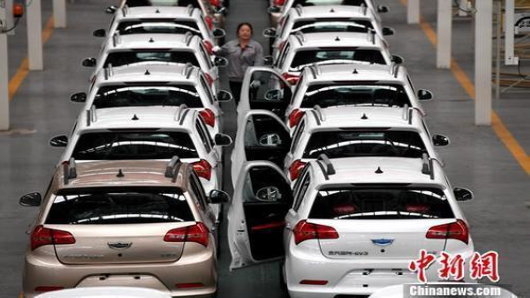 圖/翻攝自 中新網 逆勢增長!大陸新能源車 2020年產銷雙成長