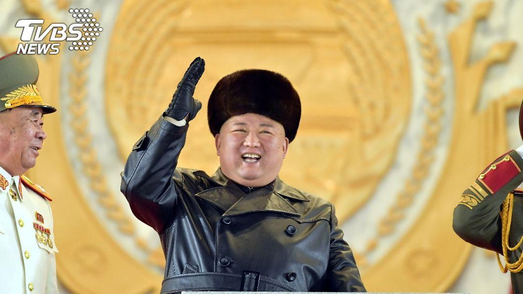 圖/達志影像路透社 深夜突擊大閱兵! 北韓秀「最強兵器」潛射飛彈