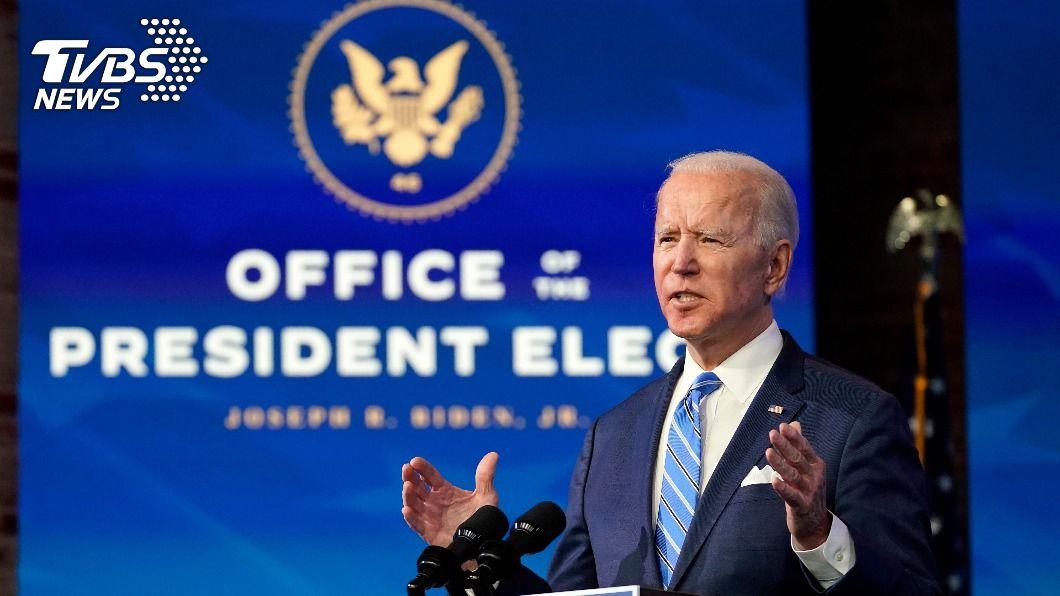 拜登將就任美國總統。(圖/達志影像美聯社) 拜登誓言開啟新篇章 卻因川普彈劾審理在即蒙陰影
