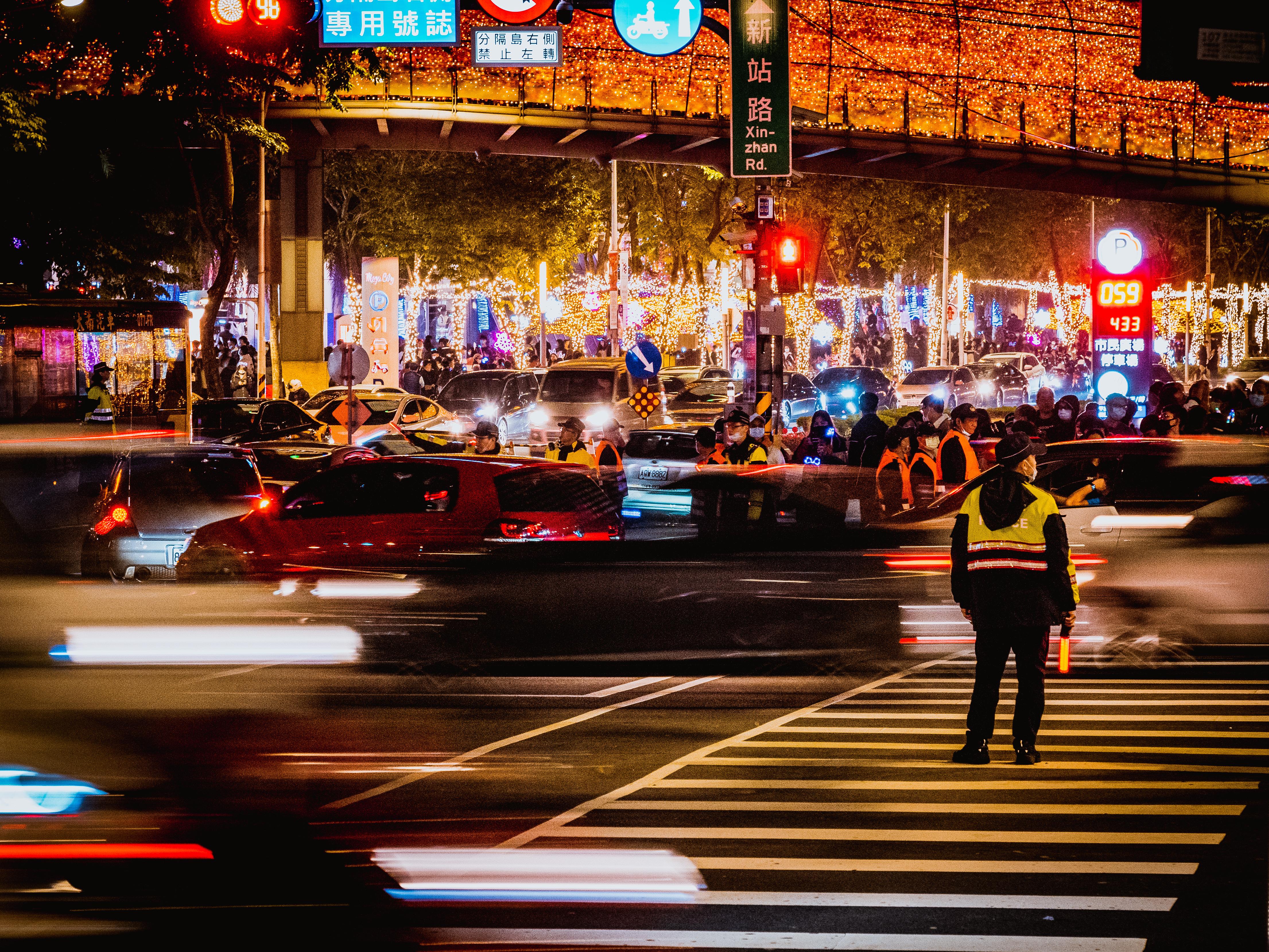 新北歡樂耶誕城,不畏疫情衝擊,今年再創佳績。(圖/TVBS) 新北歡樂耶誕城 被世界羨慕「人數多,小孩多,停留時間最多」