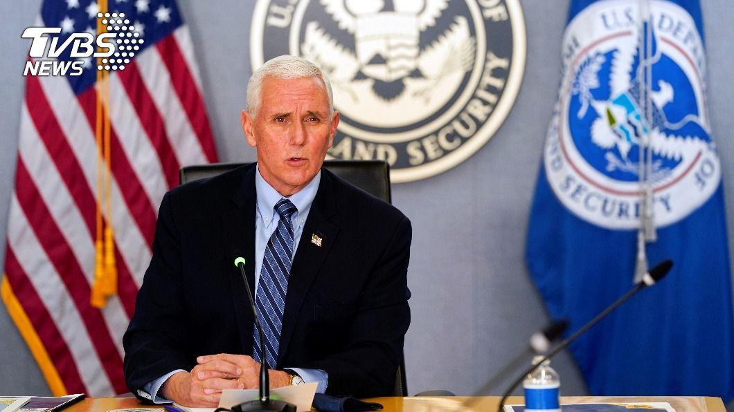 拜登就職在即,美國副總統彭斯昨(15)日致電即將繼任的賀錦麗。(圖/達志影像路透社) 辯論後首次談話! 彭斯致電拜登賀錦麗