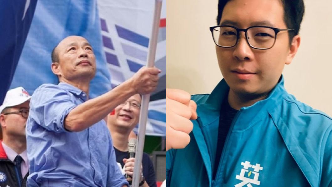 王浩宇曾斷言若他被罷免,韓國瑜就會選桃園市長。(圖/翻攝自韓國瑜、王浩宇臉書) 韓流再起?王浩宇曾斷言被罷免後「韓國瑜會選桃園市長」