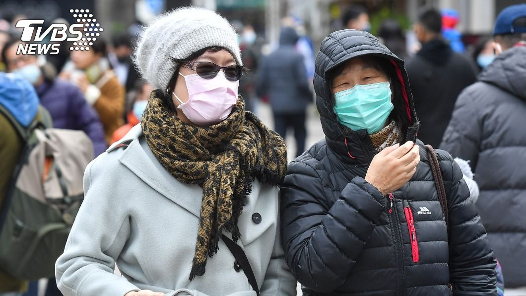 中央氣象局發布低溫特報。(圖/中央社) 冷氣團報到11縣市低溫特報 入夜探10度以下