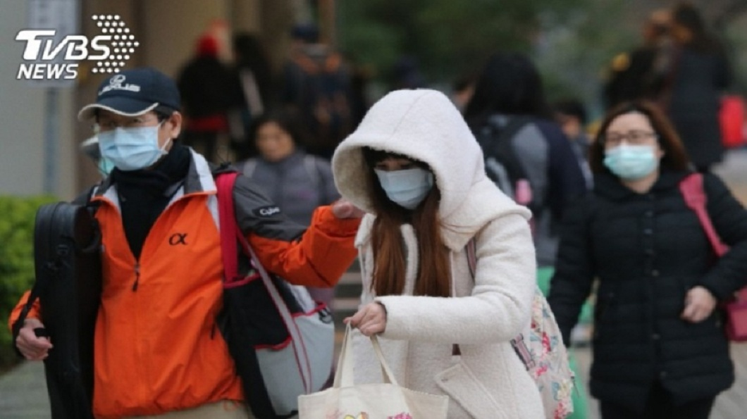 冷空氣將於週六白天逐漸減弱。(示意圖/TVBS資料畫面) 春節陽光有望露臉? 彭啟明:晴天偏暖時間多