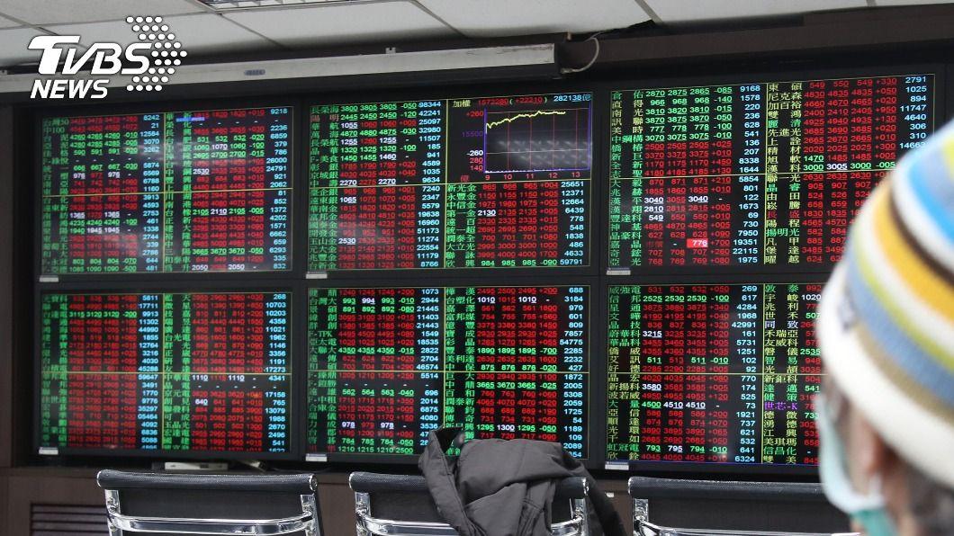 (圖/中央社) 台股本週漲2.58% 半導體指數漲7.71%最猛