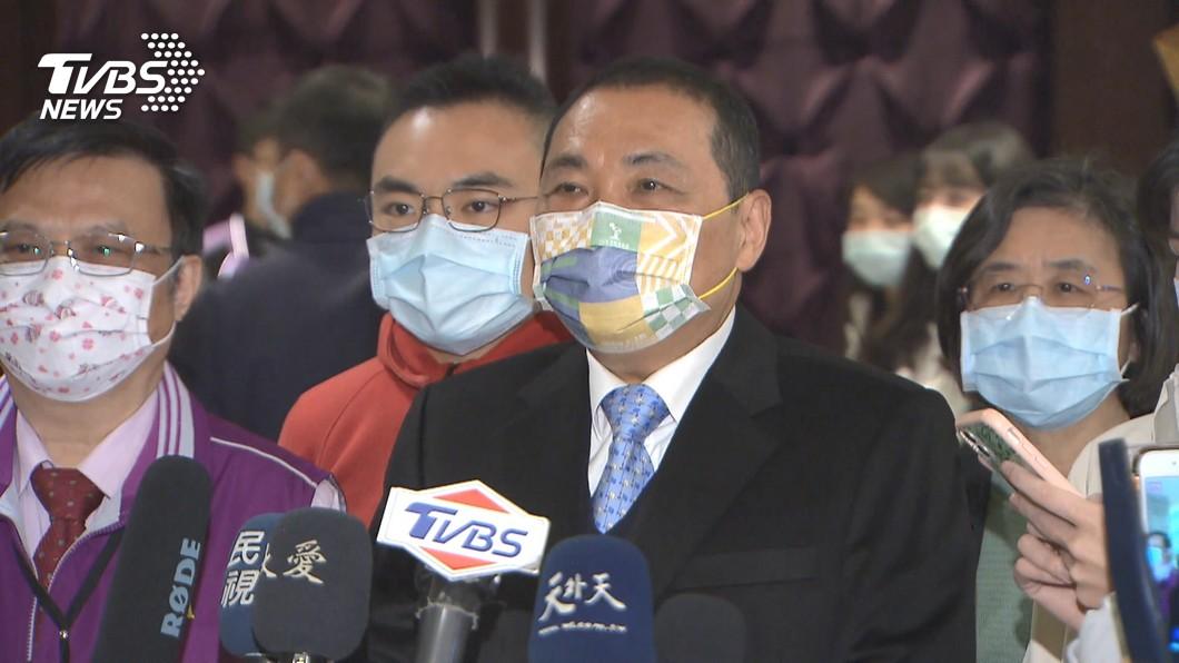 根據TVBS民調,新北市長侯友宜蟬聯全國主要政治人物聲望第一。(圖/TVBS) TVBS民調/太魯閣事件後 政治聲望侯友宜蟬聯第一